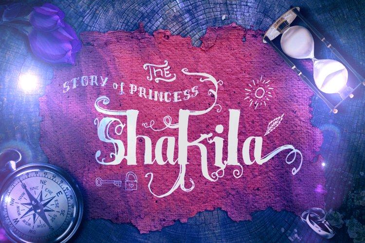 Shakila Typeface Hand Drawn Ornament