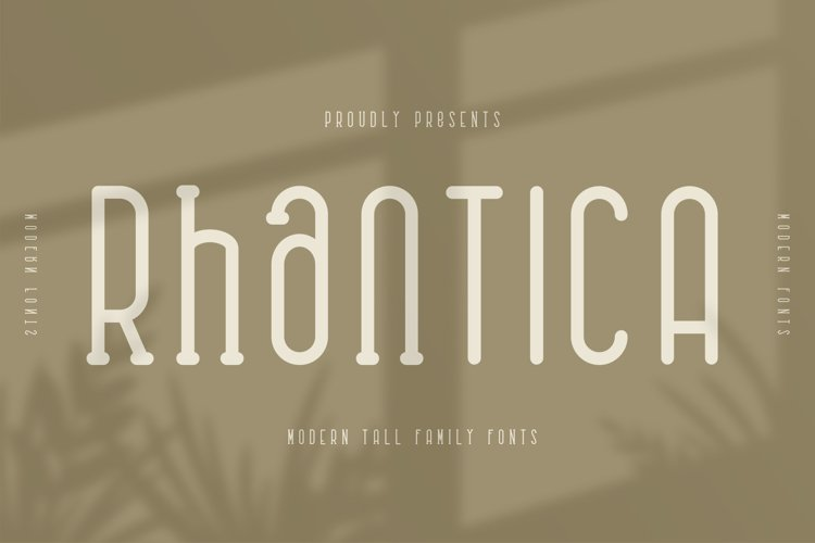 Rhantica Family Fonts example image 1