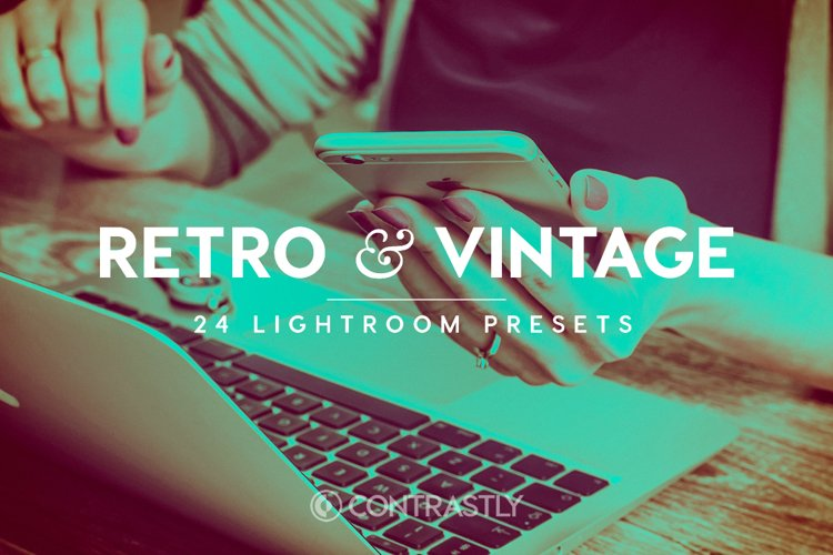 Retro & Vintage Lightroom Presets example image 1