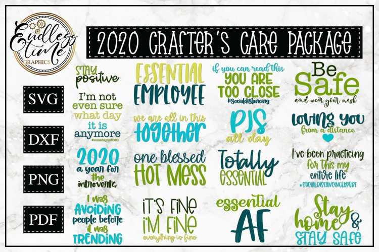 2020 Crafters Care Package - An SVG Bundle for Crafters