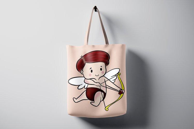 Baby Cupids Arrow Sublimation Design Love