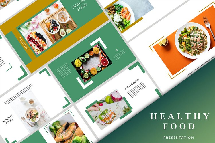 Healthy Food - Creative Powerpoint example image 1
