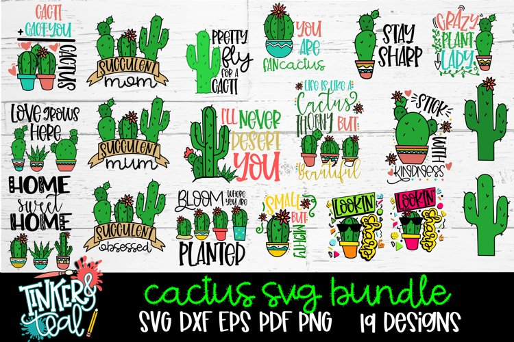 Cactus SVG Bundle example image 1
