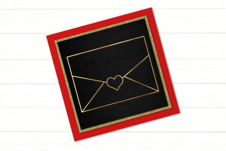 Love Letter SKETCH Single Line Pen & Foil Quill SVG