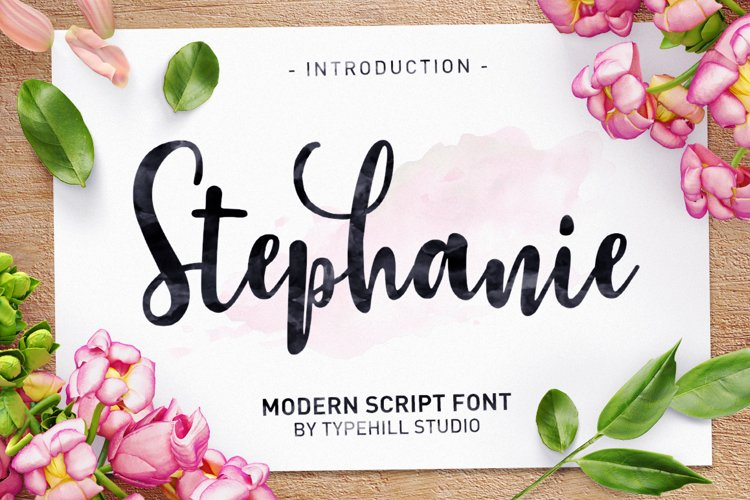 Stephanie Script example image 1