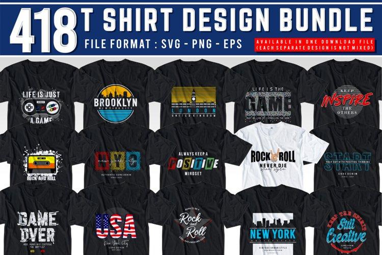 T SHIRT DESIGN BUNDLE SVG-EPS-PNG