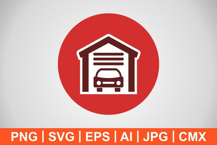 Vector Garage Icon example image 1