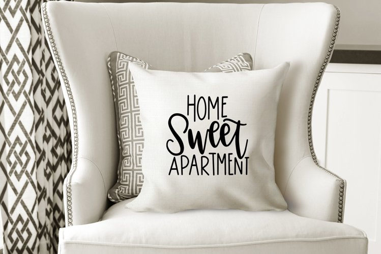 Home Sweet Apartment - Hand Lettered SVG example image 1