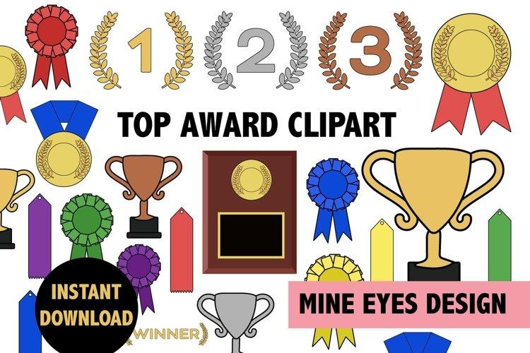 Top Award Clipart