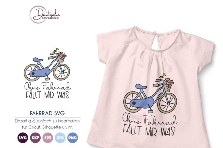 Fahrrad Spruch SVG example image 1