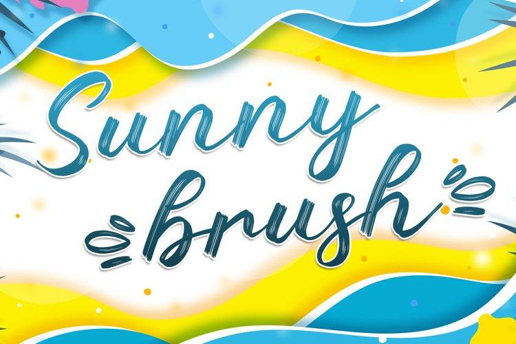 Sunny Brush example image 1