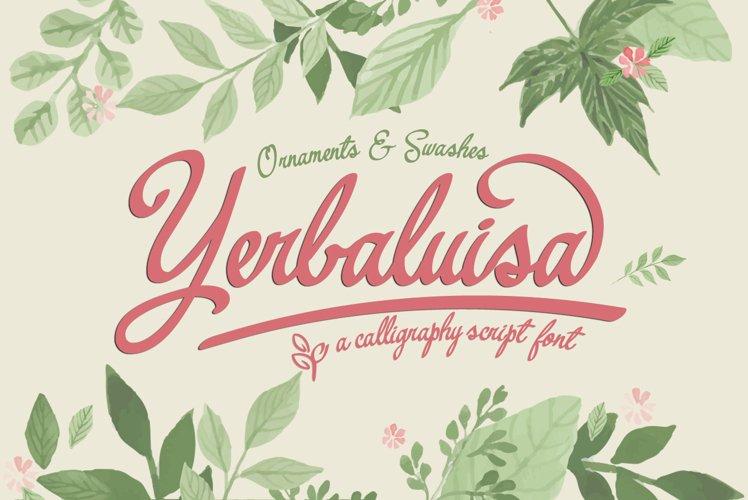 Yerbaluisa example image 1