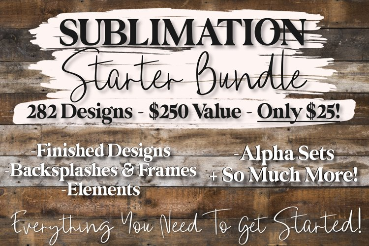 Mega Sublimation Bundle, Sublimation Starter Bundle