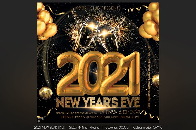 2021 New Year example image 1