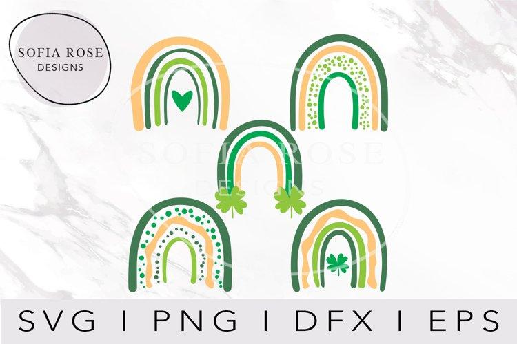 Rainbow SVG Bundle, St. Patricks Day Rainbow SVG