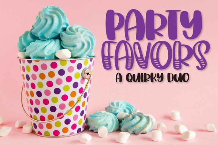 Web Font Party Favors - A Quirky Duo! example image 1