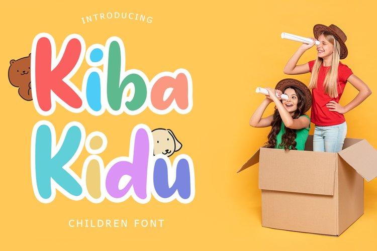 Kiba-Kidu example image 1