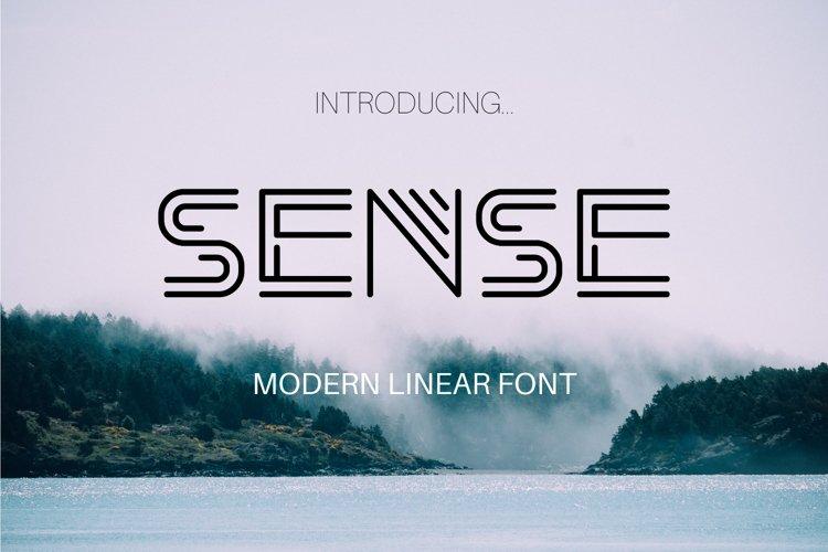 Sense Font example image 1