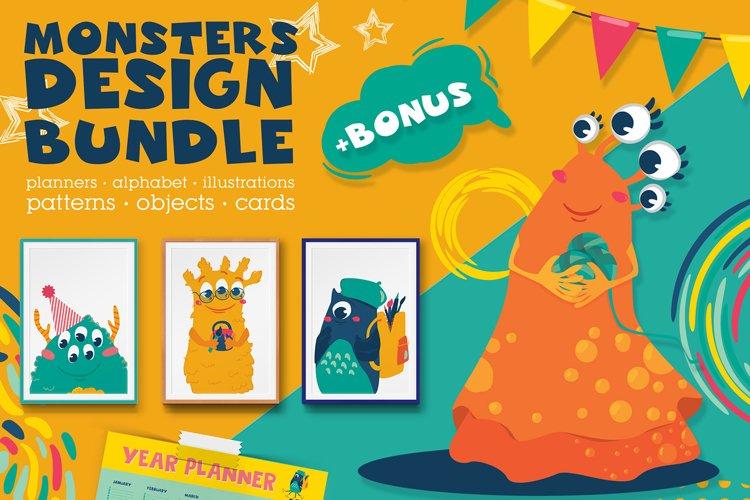 Monsters Design Bundle