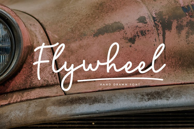 Flywheel Font Swashes