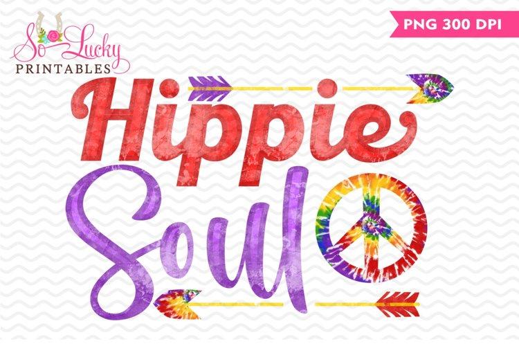 Hippie Soul printable sublimation design example image 1