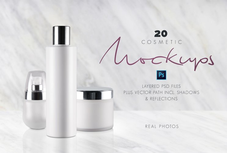 20 Cosmetic Mockups