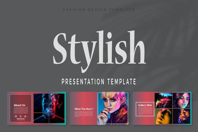 Stylish Keynote Template