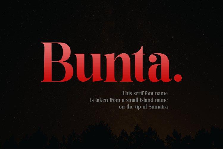 Bunta example image 1