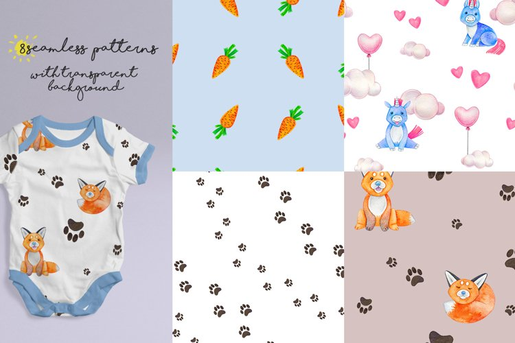CUTE ANIMALS collection BABY SHOWER example 4