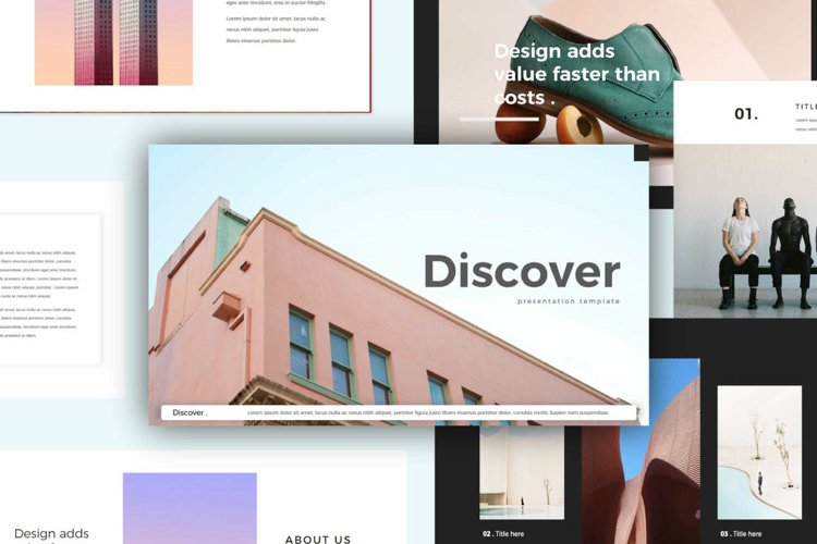 Discover - Google Slides example image 1