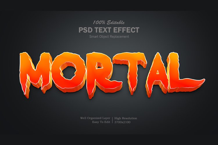 Mortal Text Effect example image 1