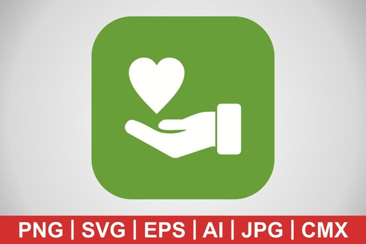 Vector Charity Icon example image 1