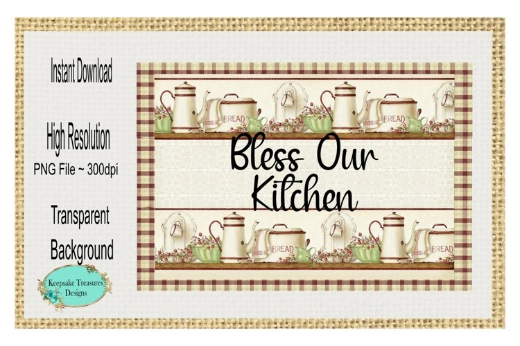 Bless Our Kitchen example image 1