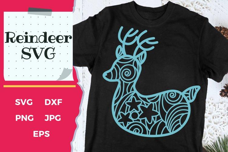 Christmas SVG | Reindeer SVG example image 1