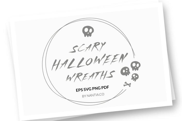 Halloween Wreaths Vector Pack example image 1