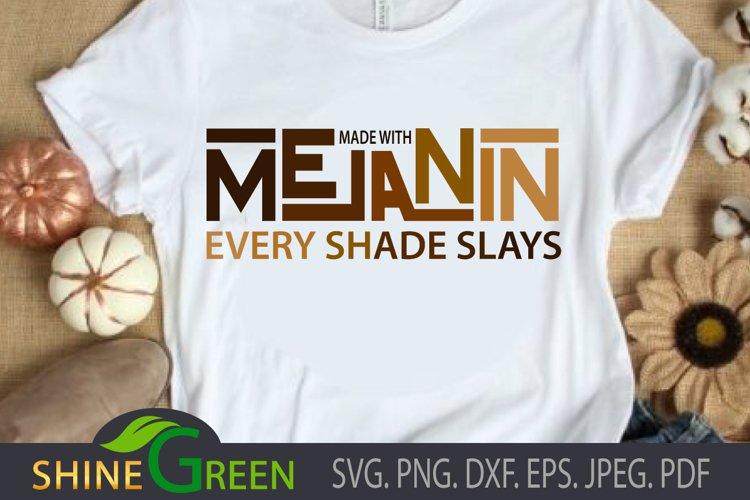 Melanin SVG for Black Woman SVG, Black Girl SVG