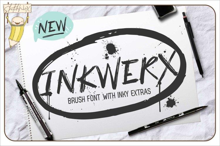 InkWerx Font & Extras