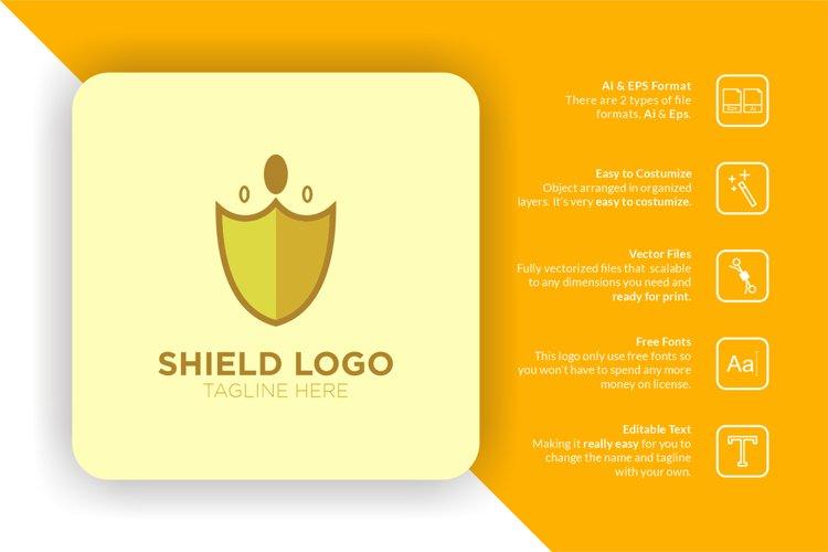 Shield Crown Logo example