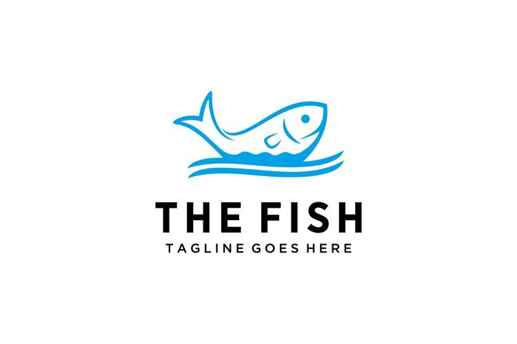 fish water logo example image 1