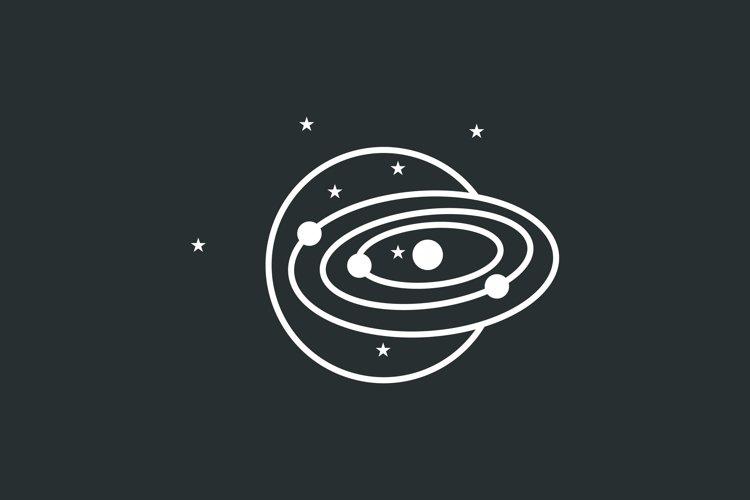 Space Galaxy Vector