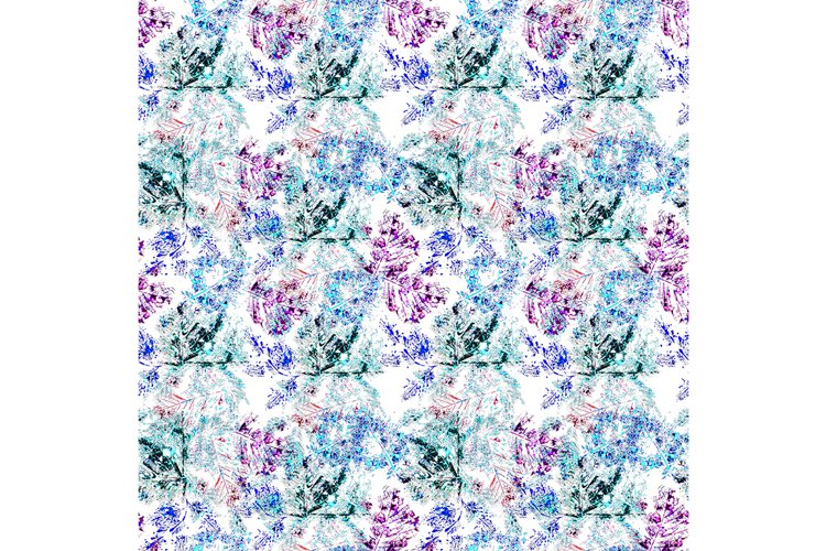 Seamless winter pattern. example image 1