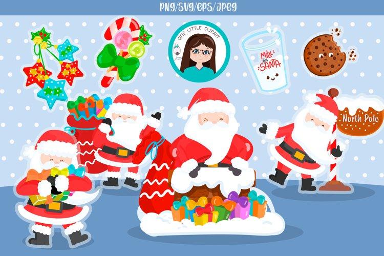 Santa cliparts