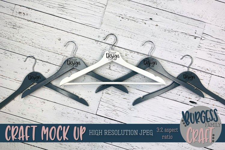 Bridal hangers Craft mock up |High Resolution JPEG