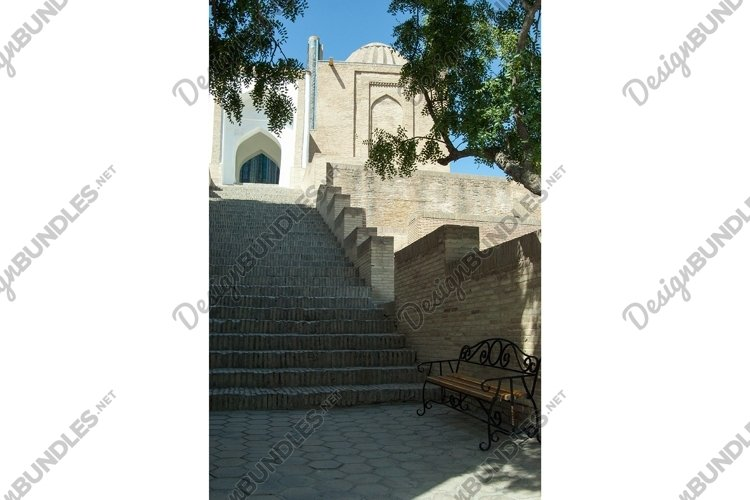Architecture Registan in Samarkand. Ancient of Central Asia example image 1