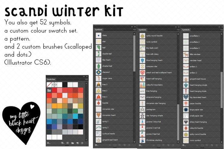 Pretty Scandi Winter Set example image 1