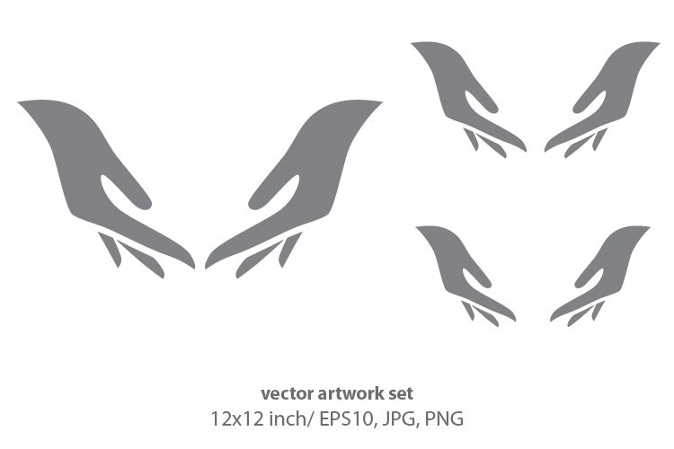 hands, vector example image 1