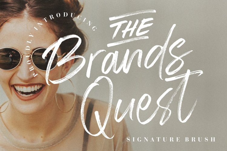 The Brands Quest Signature Brush example image 1