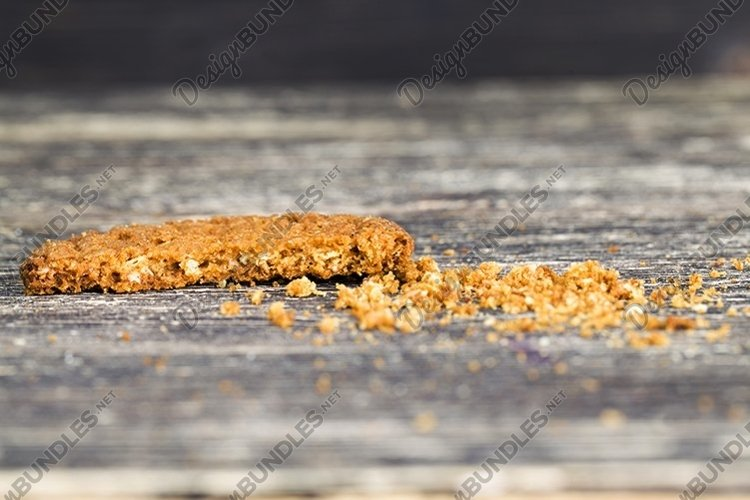 crumbled oatmeal cookies example image 1