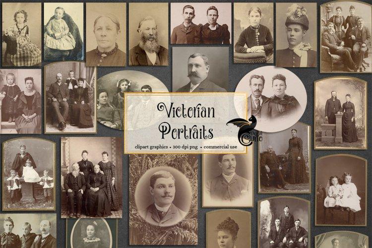 Victorian Portraits example