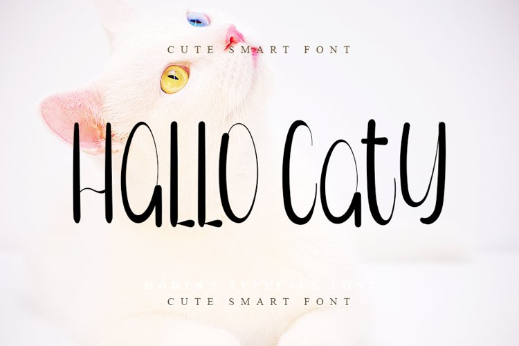 Hello Caty - Cute Handwritten Font example image 1